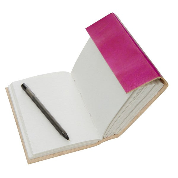 Paper High - Leather Journal - Cerise