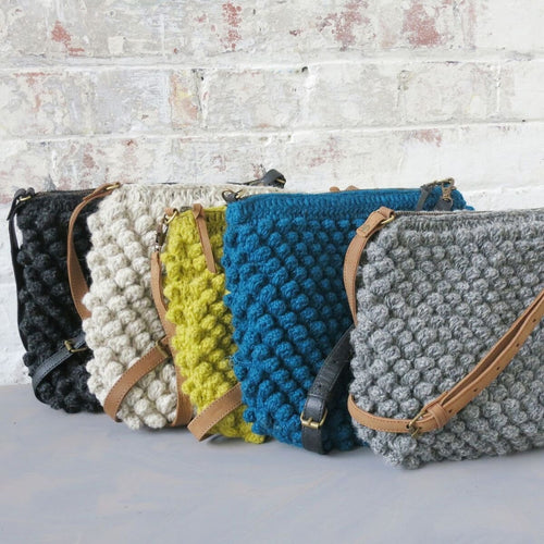 Aura Que - HURI Bobble Cross Body Bags