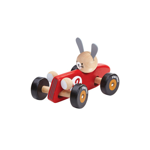 Plan Toys - Rabbit Racing Car