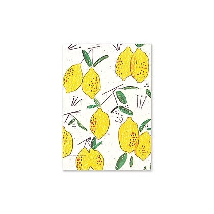 Badly Made Books - Lemons A5 notebook - Lined