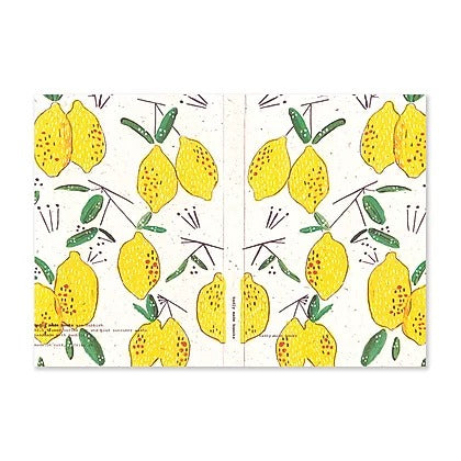 Badly Made Books - Lemons A5 130gsm notebook