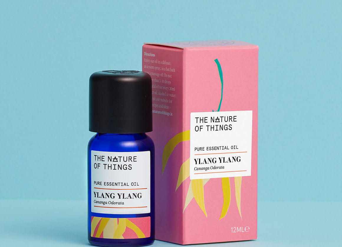 Nature of Things - Ylang Ylang (Complete) Essential Oil - Organic 12ML