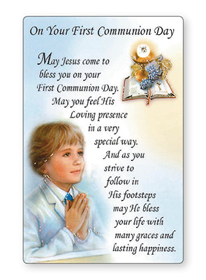 CBC Communion Card - Boy