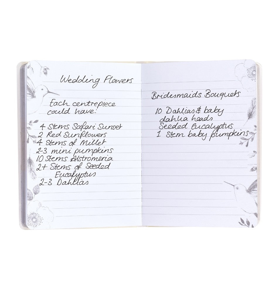 Bride to B - Wedding Notes