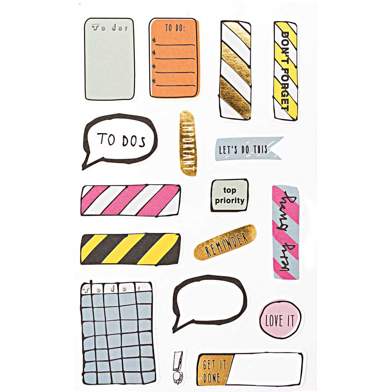 Rico - Bullet Diary Stickers - Events