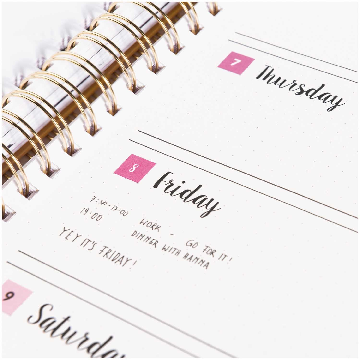 Rico - Bullet Diary Stickers - Dates, Days and Months