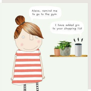 Rosie Made a Thing Card - Alexa Gin