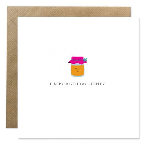 Bold Bunny - Happy Birthday Honey