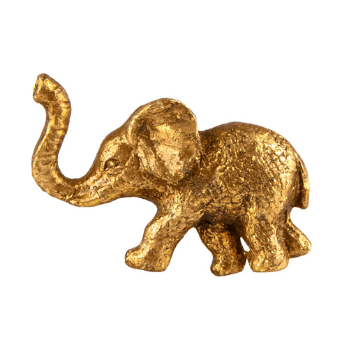 Sass & Belle Door knobs - Golden Elephant