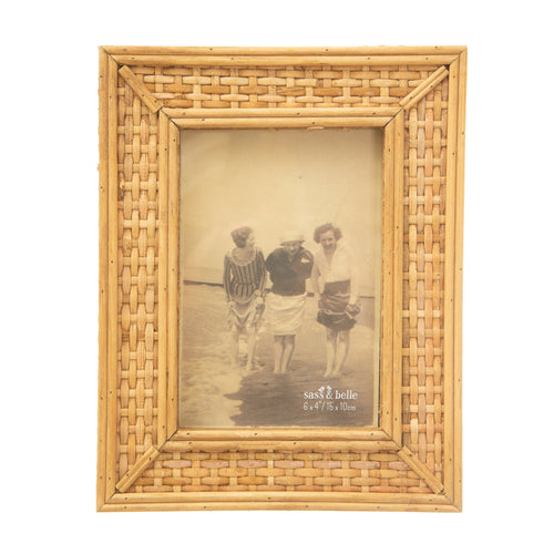 Sass & Belle Photo Frame - Rattan