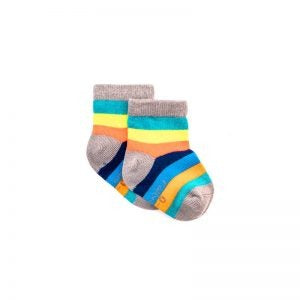 Polly & Andy Bamboo Childrens Socks - Rainbow