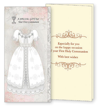 Communion Card Handcrafted - Boy or Girl