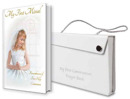 CBC Communion Missal and Case - Girl