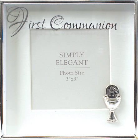 CBC Communion Photo Frame - Silver Square