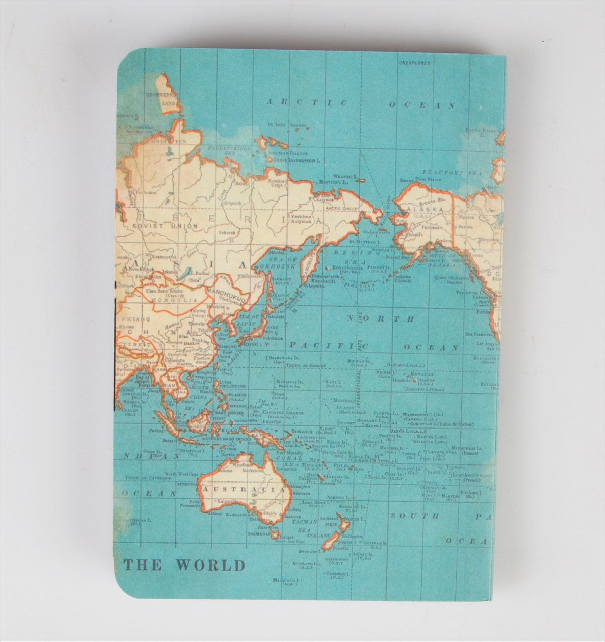 Sass & Belle Notebook - Vintage Map Big Ideas
