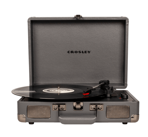 Crosley Cruiser Vinyl Record Player - Slate Grey