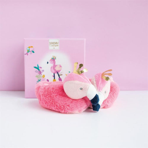 Doudou Booties - Flamingo