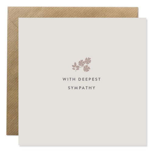 Bold Bunny - With Deepest Sympathy