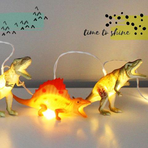 Disaster Designs Light - String Dinosaurs Natural
