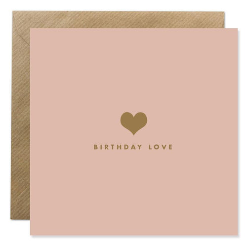 Bold Bunny - Birthday Love