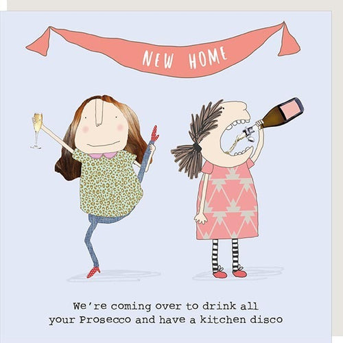 Rosie Made a Thing Card - Kitchen Disco