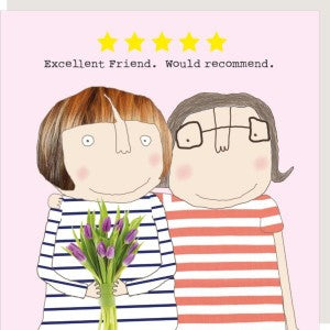 Rosie Made a Thing Card - Five Star Friend