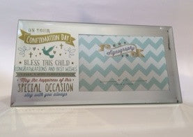 Confirmation Gift Mirror Frame