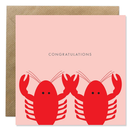 Bold Bunny - Congratulations Lobsters