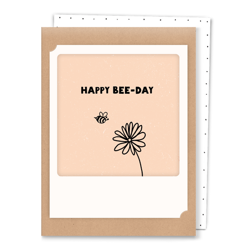 Pickmotion Mini-Card - Happy Bee-Day