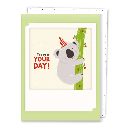 Pickmotion Mini-Card - Today is Your Day - Koala