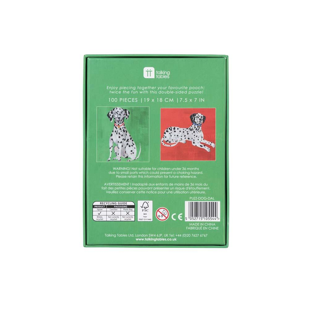 Talking Tables Jigsaw 100 piece - Pooch Puzzles