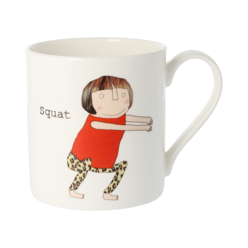 Rosie Made a Thing Mug - Squat DiddlySquat