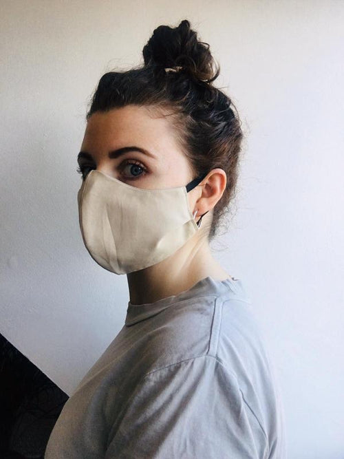 Face It! Irish Made - Ladies Face Mask - Natural