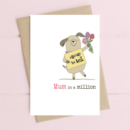 Dandelion Card - Mum in a Million