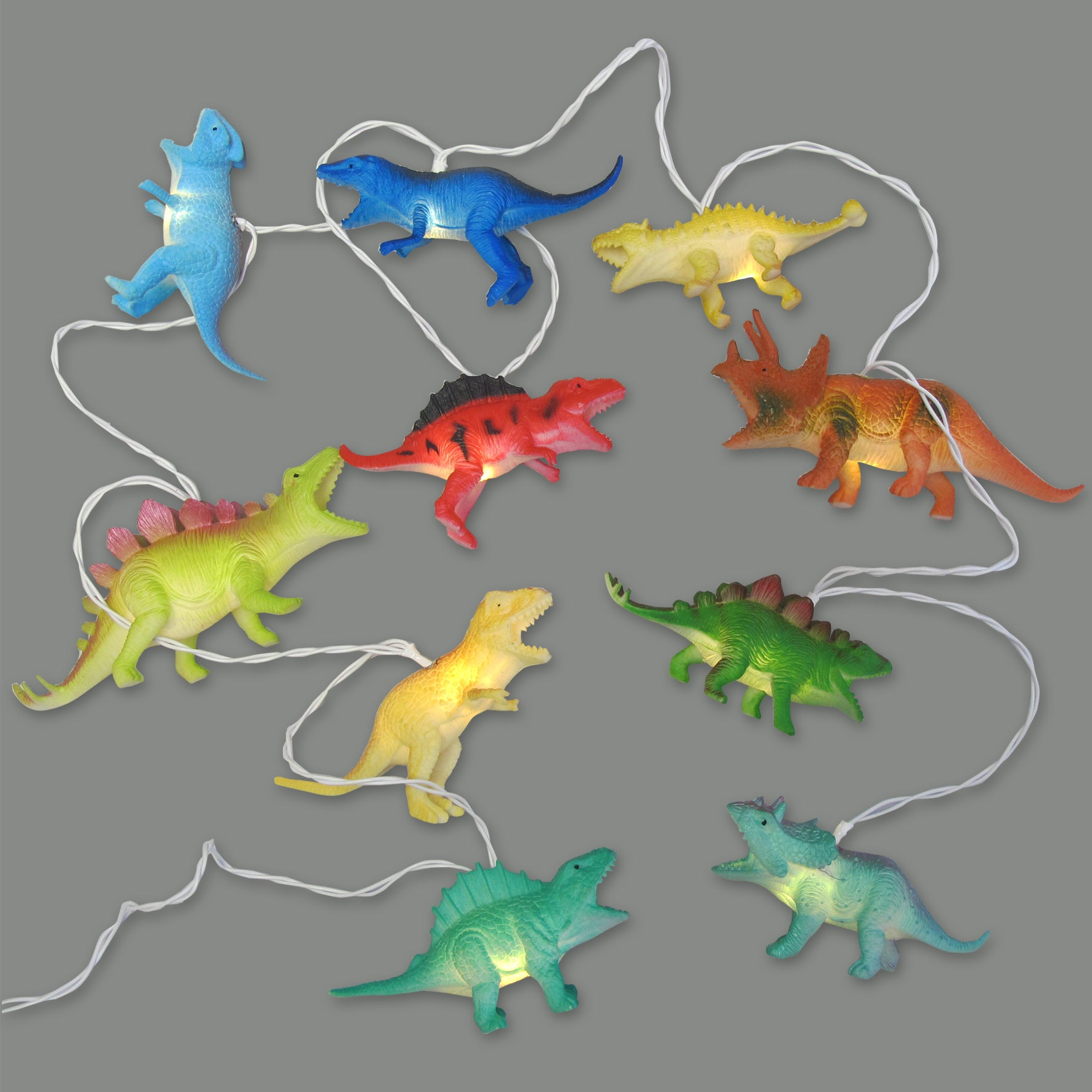 Disaster Designs Light - String Dinosaurs