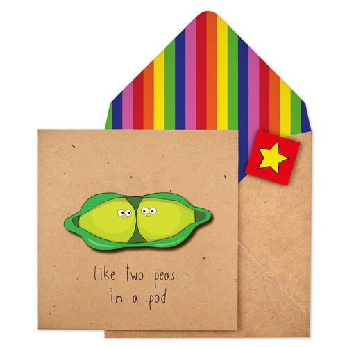 Tache Craft Kraft - Two Peas in a Pod