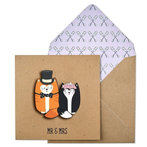 Tache Craft Kraft - Mr & Mrs Cats
