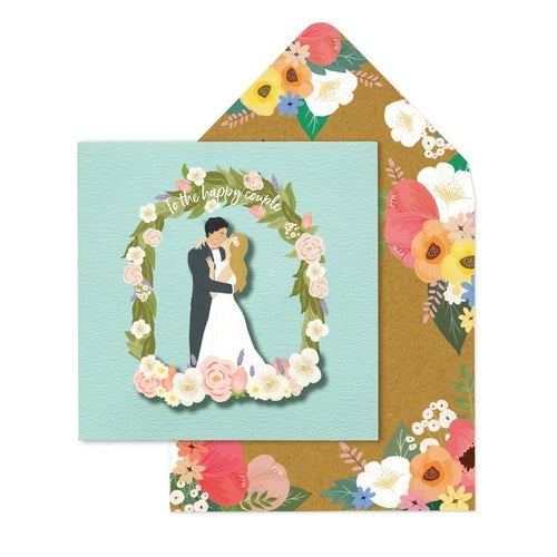 Tache Crafts Vintage - Mr & Mrs Floral Arch
