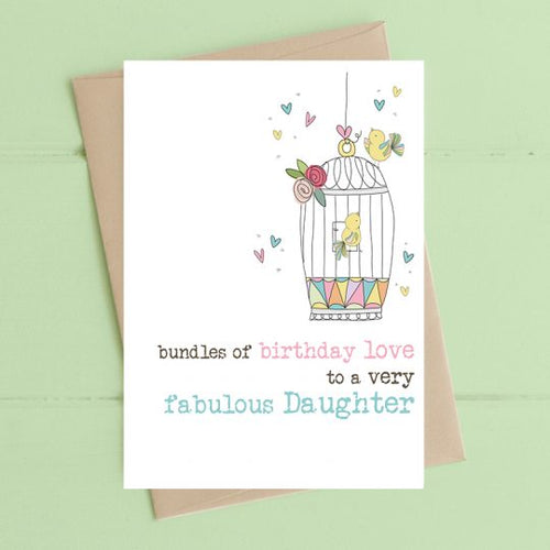 Dandelion Card - Fabulous Daughter