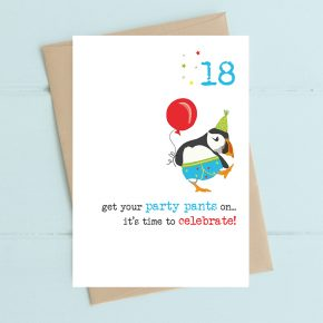 Dandelion Card - Party Pants 18th