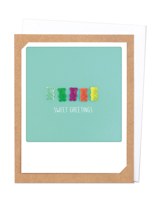 Pickmotion Photo-Card - Sweet Greetings