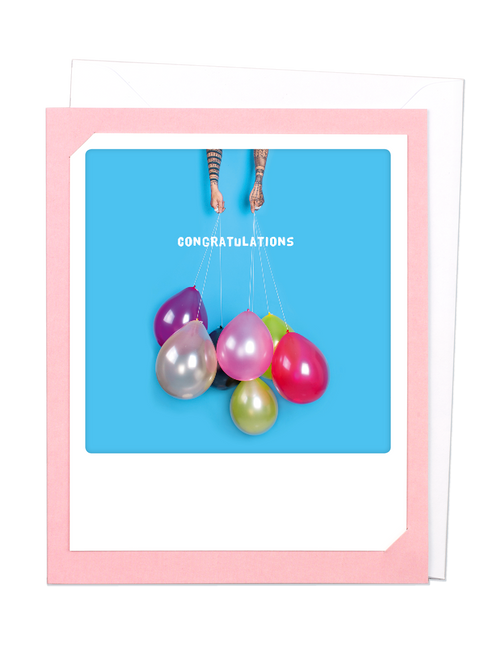 Pickmotion Photo-Card - Handful of Balloons