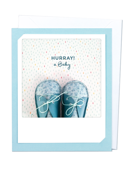 Pickmotion Photo-Card - Hurray! A baby