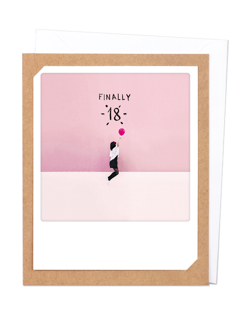 Pickmotion Photo-Card - Finally 18