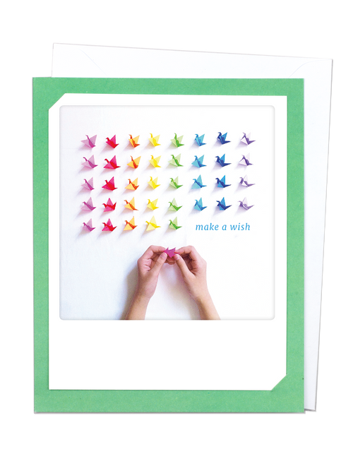 Pickmotion Photo-Card - Make a Wish Origami
