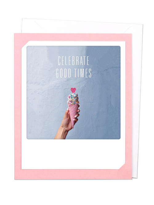 Pickmotion Photo-Card - Celebrate Good times