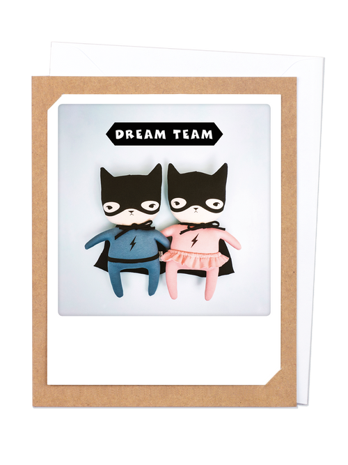 Pickmotion Photo-Card - Dream Team Puppets