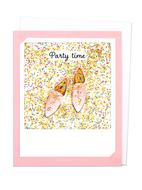 Pickmotion Photo-Card - Party Time Confetti