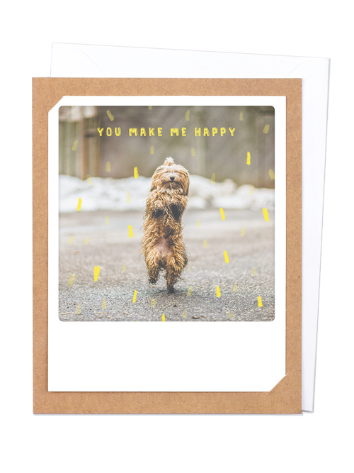 Pickmotion Photo-Card - You Make me Happy