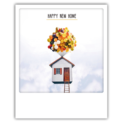 Pickmotion Photo-Card - Happy New Home Clouds
